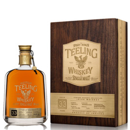 Teeling 33 Year Old Single Malt Whiskey