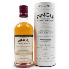 Dingle Single Malt Cask Strength Whiskey Batch No 3